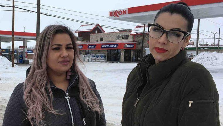 Ana Suda y Martha Hernández fueron retenidas por hablar español. ACLU