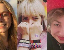 Iryna Kuzemko, Lia y Olga Opinko tienen tres variantes intersexuales distintas. Hay más de 40 en total.