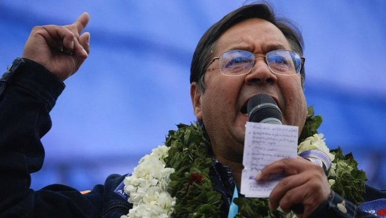 Arce triunfó con más del 55% de los votos.