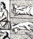 Los indígenas del centro de México sufrieron una mortal epidemia de viruela en 1520.