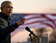 Barack Obama fue presidente de EE.UU. entre 2009 y 2017.