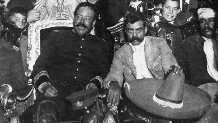 Pancho Villa y Emiliano Zapata fueron dos de los líderes más carismáticos de la Revolución Mexicana.