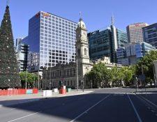 Adelaide, junto al resto de Australia Meridional, entró en confinamiento el miércoles.