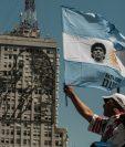 La muerte de la estrella del fútbol movilizó a decenas de miles de argentinos este jueves. NOLAN RADA