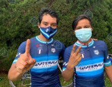 Alfredo Ajpacajá y Mardoqueo Vázquez consiguieron triunfar en la Vuelta a Chiriquí en la penúltima etapa. Foto Prensa Libre: Fedeciclismo.