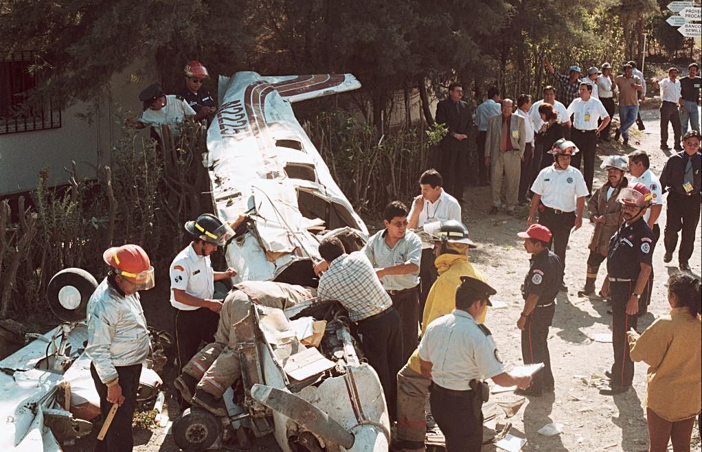 Los 15 accidentes aéreos de más impacto en Guatemala