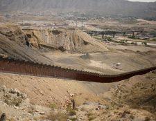 Una sección del muro fronterizo entre EE-.UU. y México en Ciudad Juárez, México, el 20 de agosto de 2020.