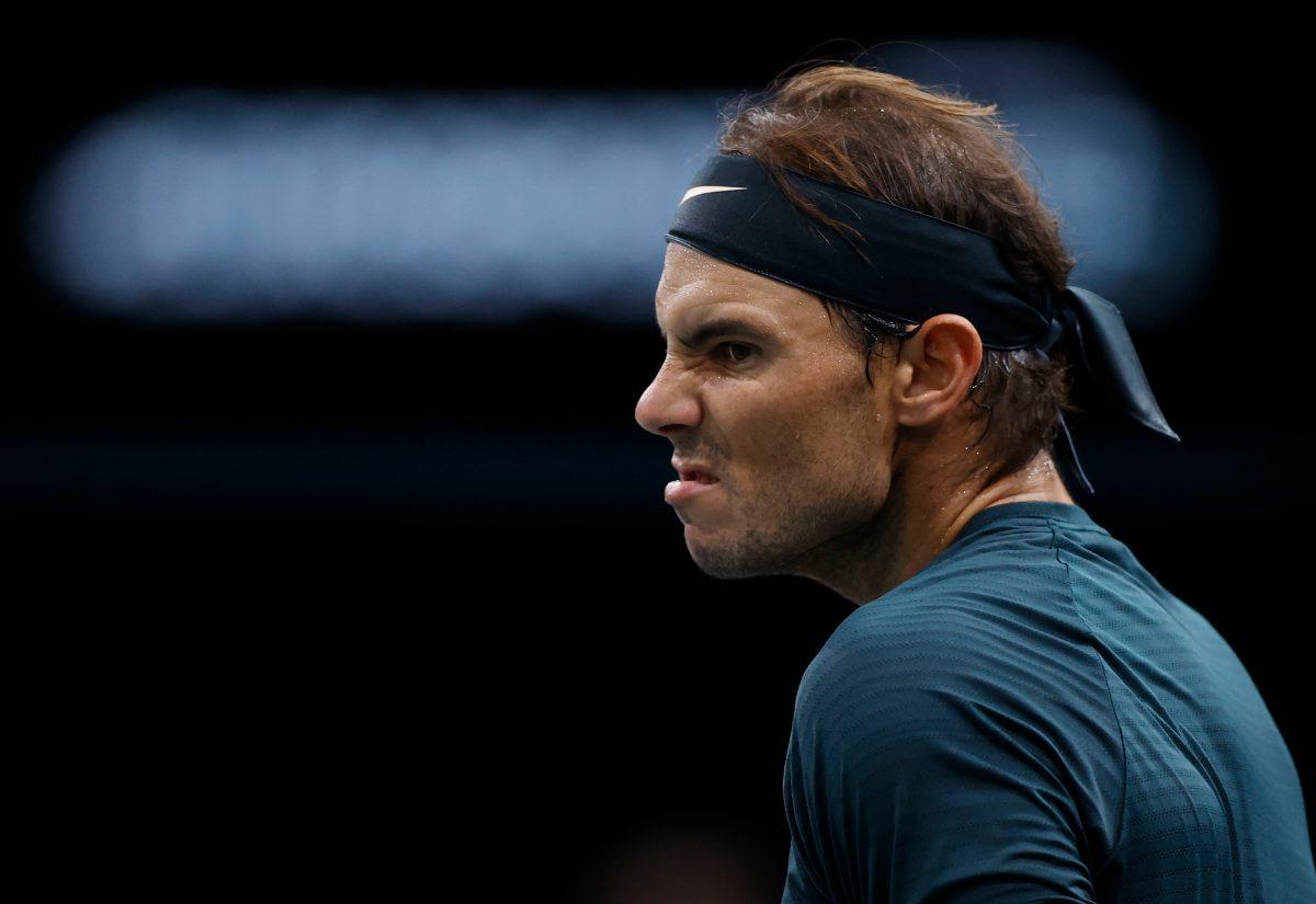 Nadal pierde ante Zverev y queda fuera de la final del Masters 1000 de París