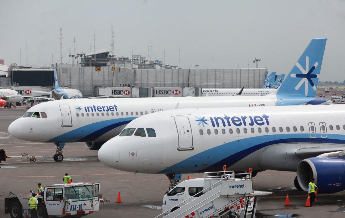 Por qué la aerolínea mexicana Interjet lleva cinco días sin levantar vuelo