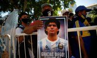 Estos fueron los resultados de la autopsia que muestran que, Maradona, murió mientras dormía (Foto Prensa Libre: EFE)