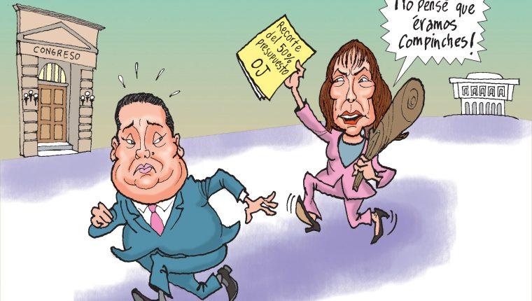 Personajes: Allan Rodriguez y Silvia Valdés.