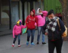 El Insivumeh pronostica la llegada de varios frentes fríos a Guatemala. (Foto Prensa Libre: Hemeroteca PL)
