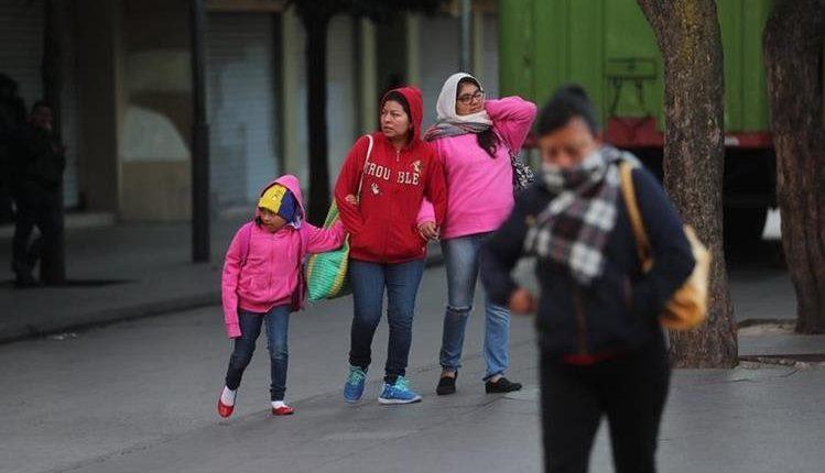 Prepare sus abrigos, Insivumeh pronostica unos 12 frentes fríos en Guatemala