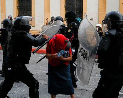 Países donantes demandan investigar incidentes durante las protestas