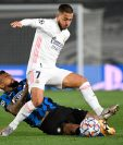 Hazard, junto a Casemiro han dado positivo por covid-19 tras haber jugado ante el Inter de Milán por la Champions. (Foto Prensa Libre: AFP)