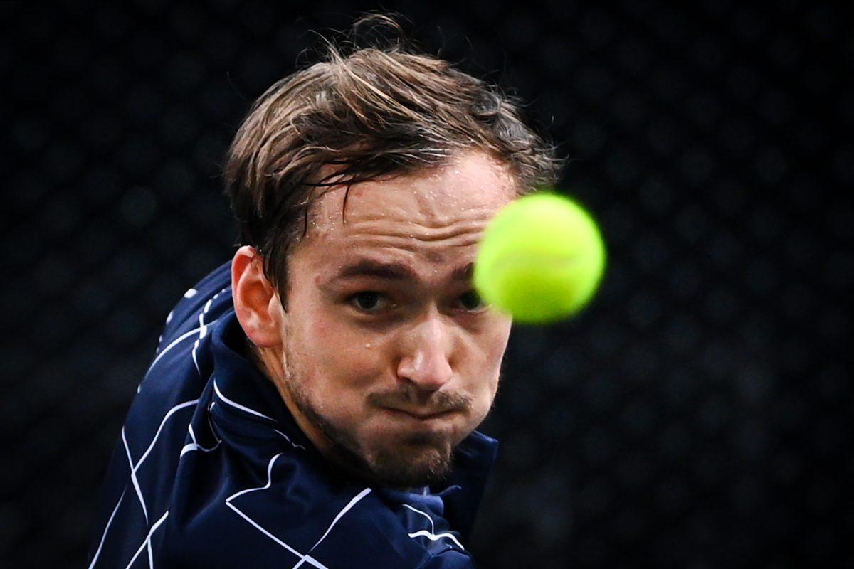Medvedev, finalista del Masters 1000 de París por primera vez