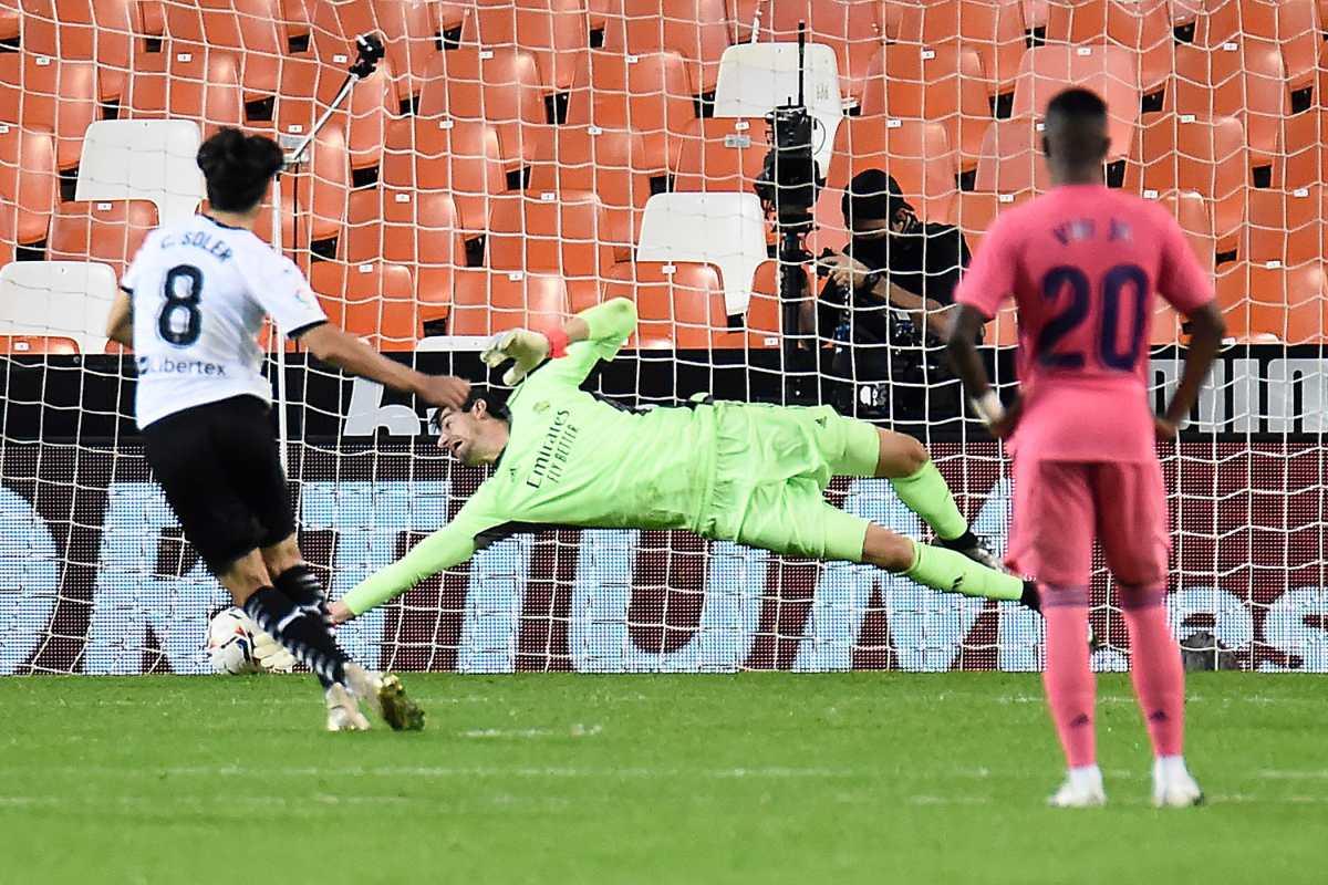 El Real Madrid cae por goleada 4-1 ante el Valencia