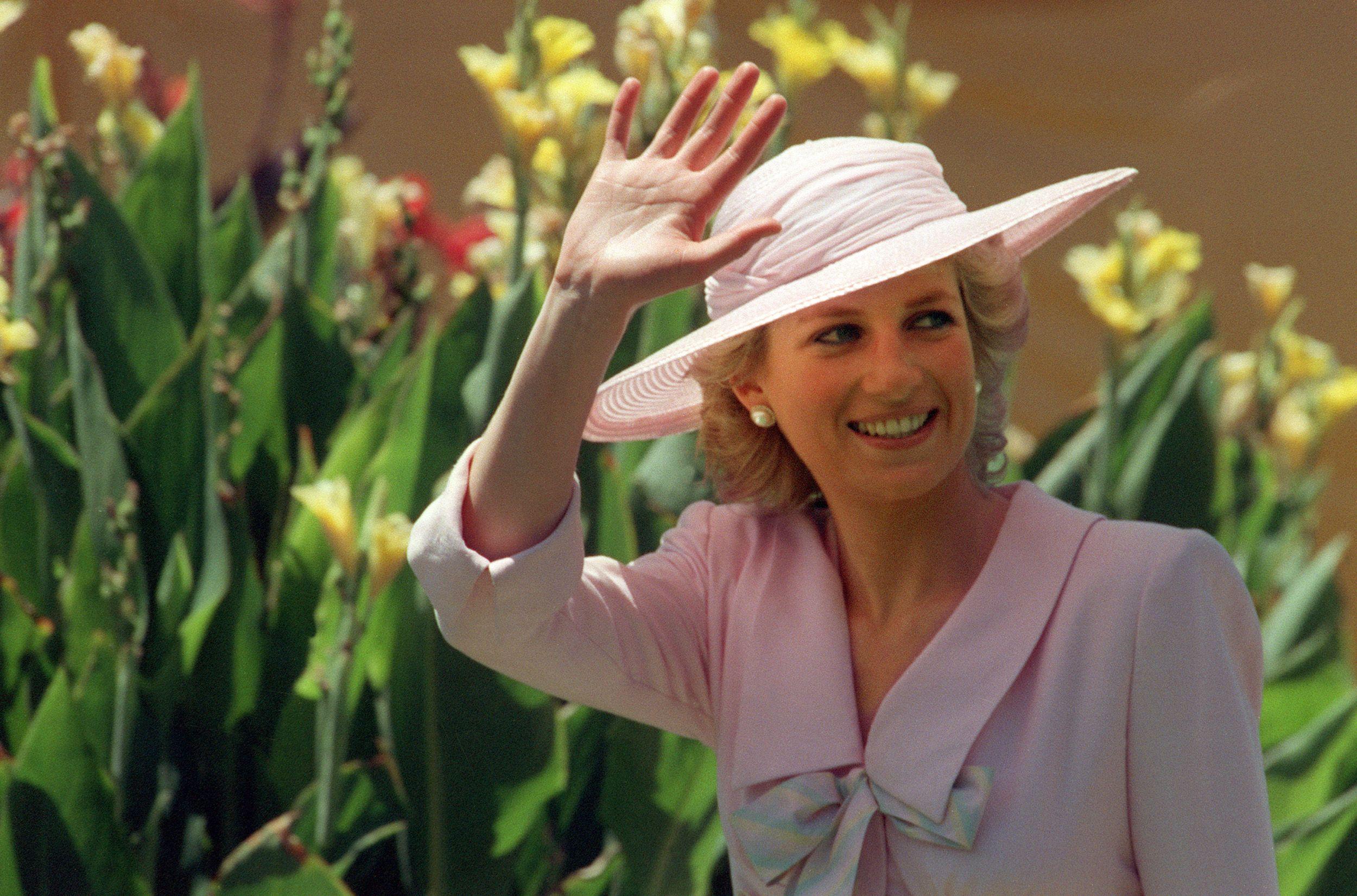 Princesa Diana accidente 1995