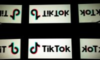 (FILES) In this file photo taken on October 05, 2020 shows the logo of social media TikTok on a tablet screen in Toulouse, southwestern France. - The US government has decided against enforcing its ban on Chinese-owned social media sensation TikTok to comply with a federal court ruling issued in the national security case, a media report said November 12, 2020. (Photo by Lionel BONAVENTURE / AFP)
