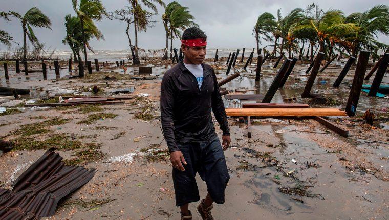 Nicaragua Iota Huracán