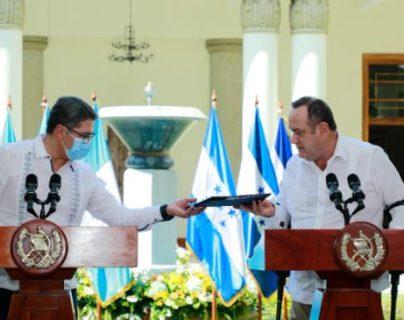Honduras y Guatemala buscarán integración para los fondos verdes y enfrentar los desastres naturales