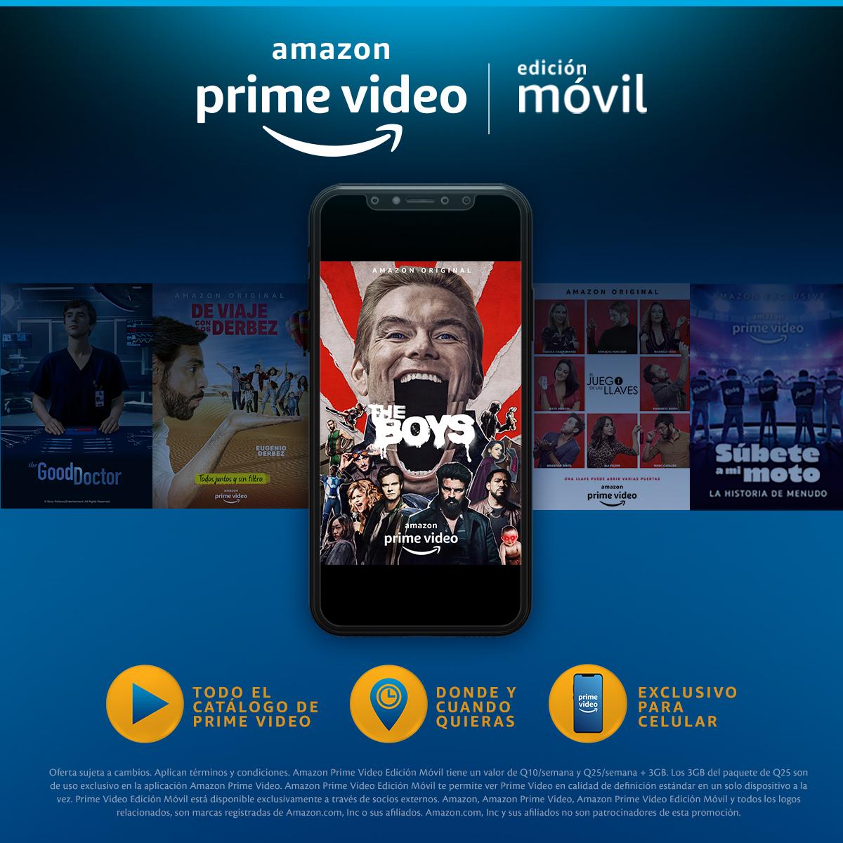 Tigo presentó Amazon Prime Video para usuarios prepago