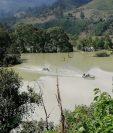 Varias áreas en los que hay plantaciones de café en  municipios de Alta Verapaz fuero inundadas. (Foto, Prensa Libre: Anacafé).