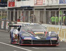 Andrés Lush Saravia se impuso categóricamente en la categoría GT1. Foto Prensa Libre: Cortesía César Pérez.