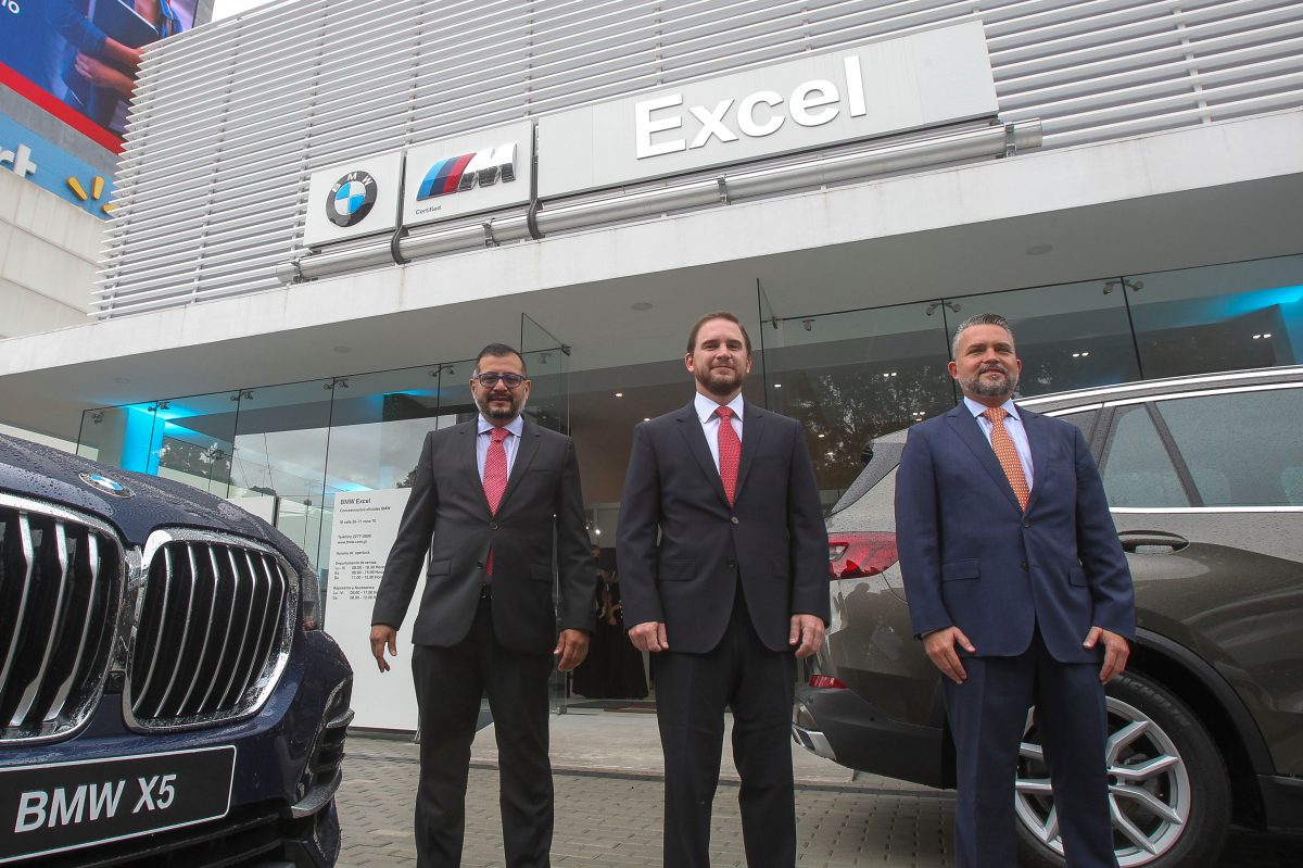 Excel inauguró el nuevo showroom de BMW en Guatemala