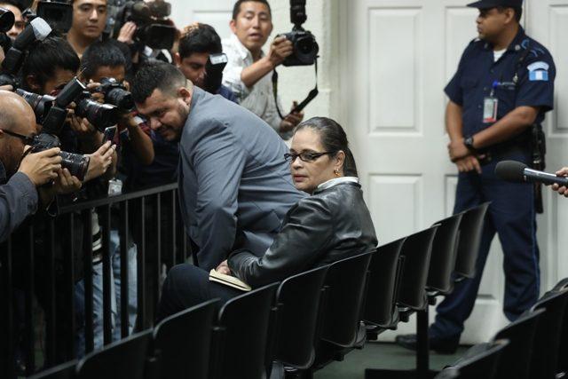 La exvicepresidenta Roxana Baldetti es señalada por el Ministerio Público en varios casos de corrupción durante el gobierno del Partido Patriota. (Foto HemerotecaPL)