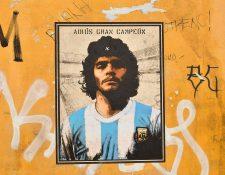 Diego Armando Maradona falleció el miércoles 25 de noviembre en Argentina a los 60 años. (Foto Prensa Libre: AFP)