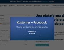 La red de los servicios del grupo de Facebook y ahora se expande al área de servicio al cliente con su nueva adquisición (Foto Prensa Libre: Captura Kustomer)