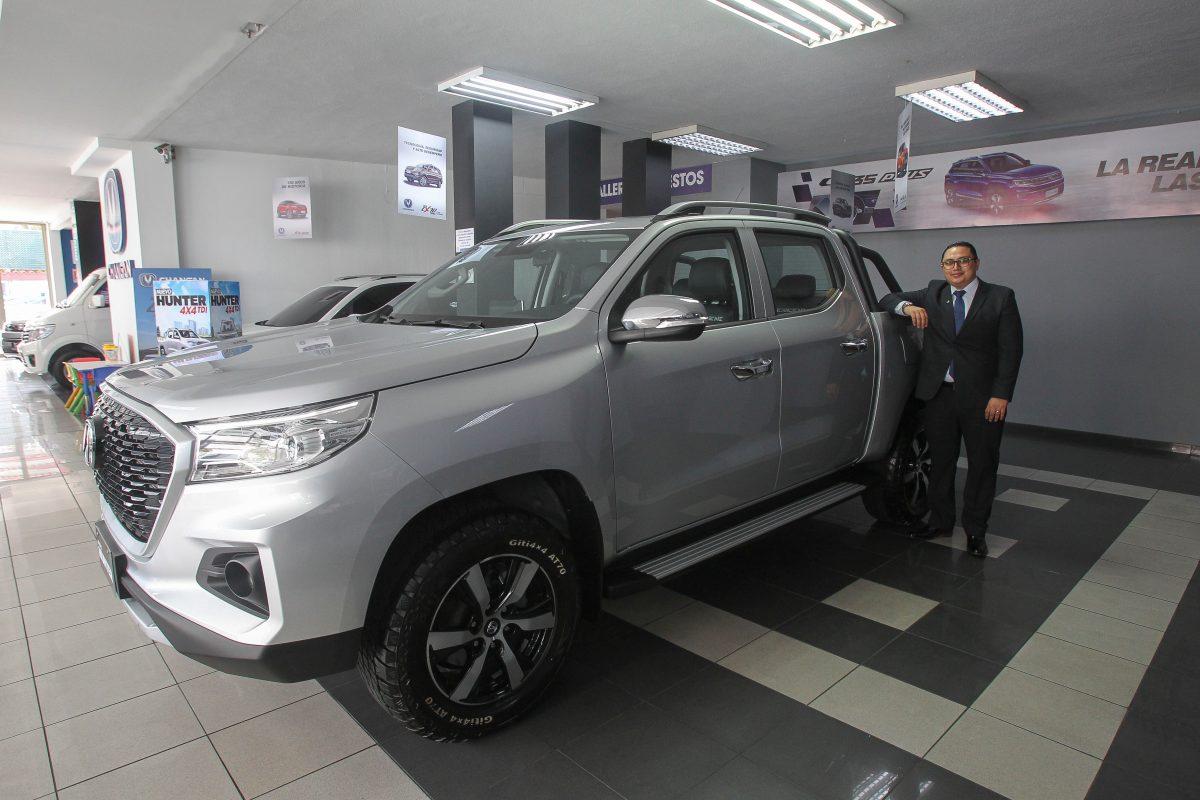 Hunter: un vehículo con atributos chino-europeos en un todo terreno 4X4