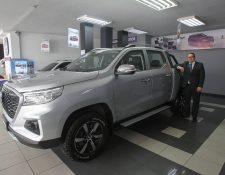 Changan presentó su nuevo pick-up Hunter que tiene una mezcla perfecta, al unir potencia, fuerza y la amplitud. Foto Prensa Libre: Norvin Mendoza