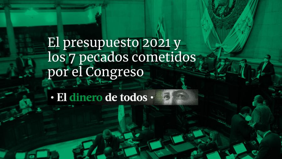Presupuesto 2021: Estos son siete pecados cometidos por 115 diputados la noche del martes
