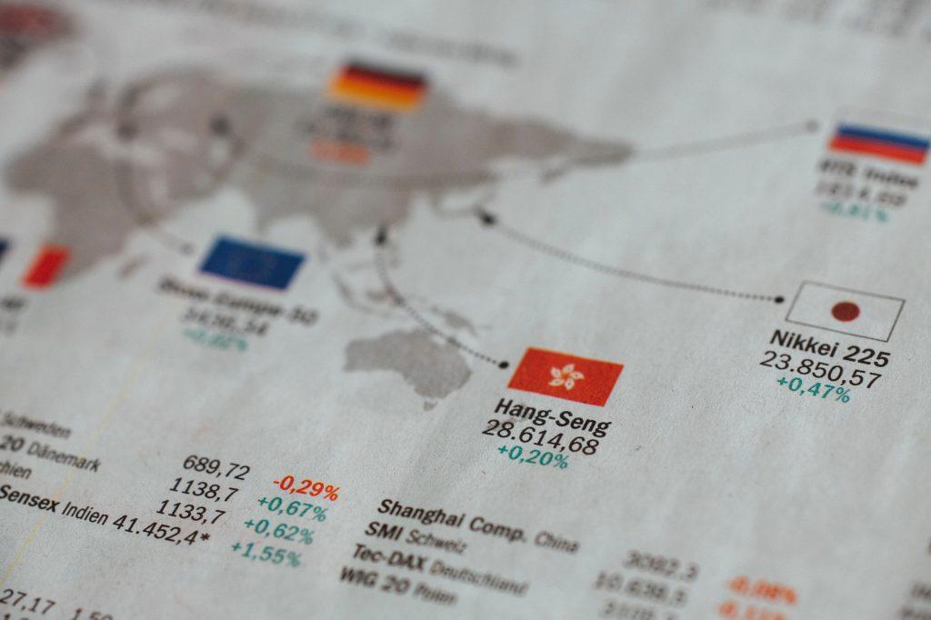 Dow Jones estadísticas