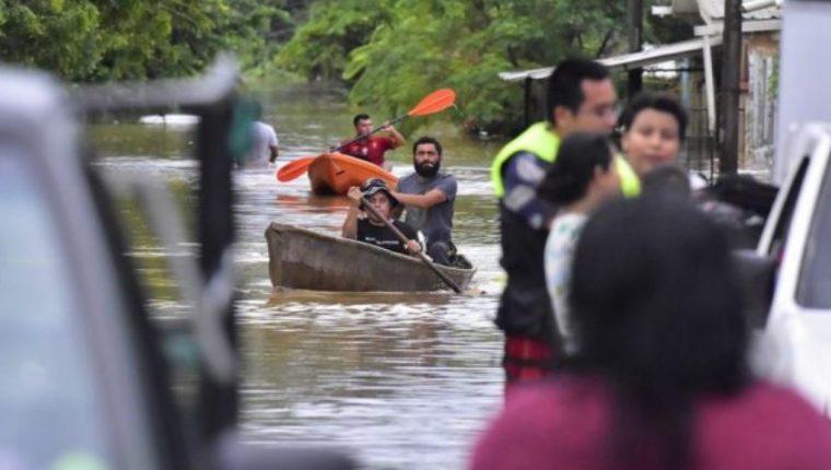 Eta deja destrucción en Honduras, Foto: EFE