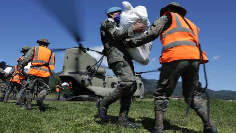 Estados Unidos ha contribuido con ayuda humanitaria a Guatemala durante los eventos climáticos Eta y Iota. (Foto: Embajada de Estados Unidos)