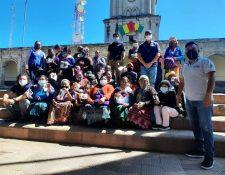 Entrega del bono especial en Comitancillo y Concepción Tutuapa, San Marcos. (Foto: Mides)