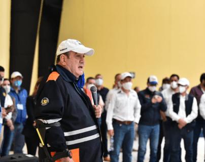 Niegan ingreso a alcalde de Carchá a reunión con el presidente Alejandro Giammattei