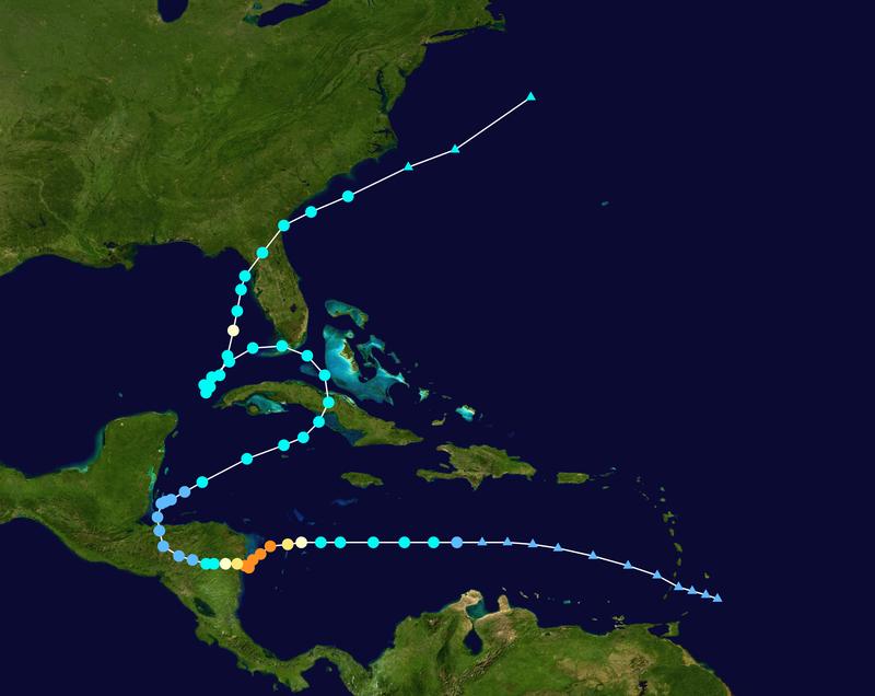 La temporada de huracanes 2020 está plagada de récords