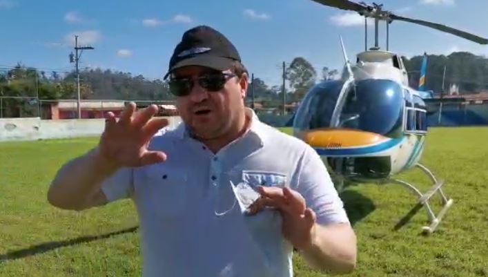 """""""Toda una montaña se había deslizado"""", narra piloto del primer helicóptero que llegó a Quejá a verificar la tragedia"""