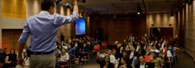 Juan Camilo Lovera, empresario y conferencista colombiano. Foto: Cortesía