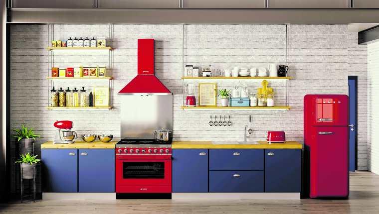 Transformar la cocina con color