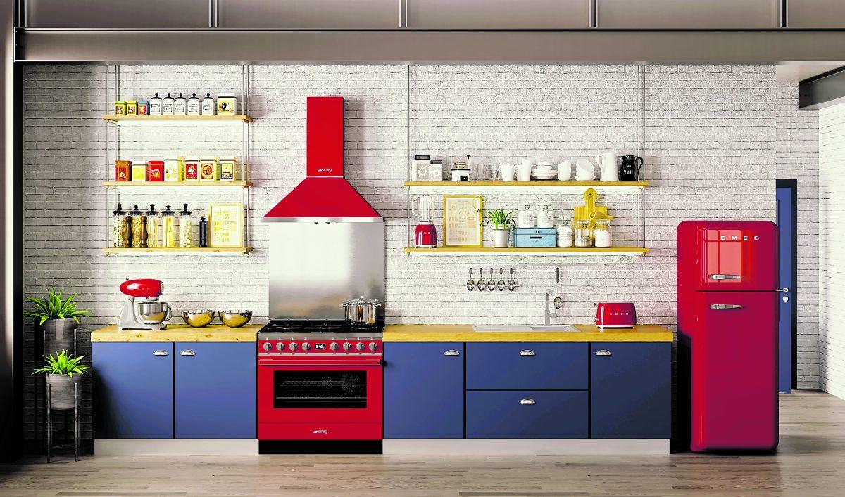 Remodelación de la cocina: transfórmela con color