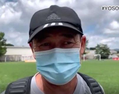 Marlon Iván León ya se incorporó a los entrenamientos de Deportivo Achuapa. (Foto Prensa Libre: Achuapa)