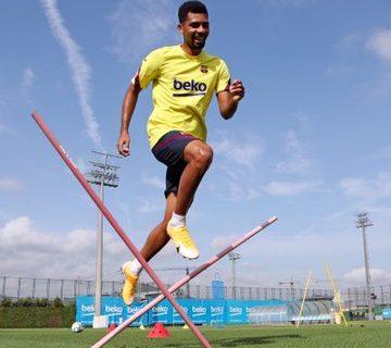 El jugador brasileño, Matheus Fernandes sería uno de los que abandonaría el FC Barcelona en enero de 2021. Foto Prensa Libre: @_matheusf