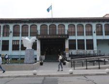 Fachada del edificio de la Corte de Constitucionalidad ubicada en la zona 1. (Foto Prensa Libre: Hemeroteca)
