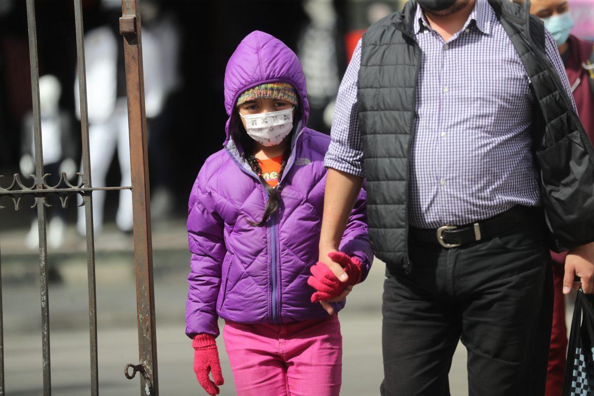 Frente frío y fuertes vientos afectarán Guatemala a partir del viernes 19 de febrero