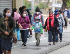 El Insivumeh estima que en algunos departamentos las temperaturas podrían llegar hasta los dos grados. Fotografía: Prensa Libre.